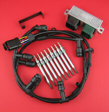 6.0 Powerstroke Glow Plug Kit- Dual Coil Glow Plugs, Controller, Harnesses, Tool