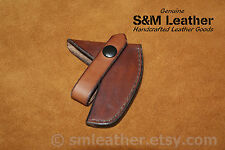 Handcrafted Leather Sheath Mask Cover fits Hultafors Bruk Felling Axe 850g HY20