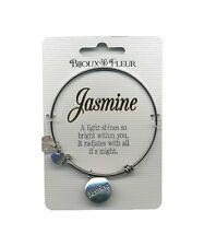 Bijoux Fleur Bangle - Bracelet with the name JASMINE