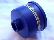 NBC Gas Mask Filter NATO 40mm -Mestel Multi-Gas NBC/CBRN -Good thru 5/2022+ NEW
