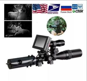 Infrared Night Vision System Rifle Scope Sight 850nm LED IR Camera W BATTERIES!