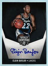ELGIN BAYLOR 2015/16 TOTALLY CERTIFIED SIGNATURES AUTOGRAPH AUTO /25