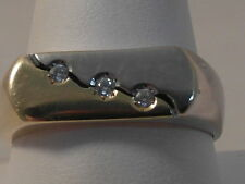 Band Multi-Tone Gold Fine Gemstone Rings