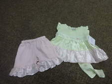 NWT NEW BOUTIQUE GIGGLE MOON 3M 3 MONTHS SHORTS TOP SET