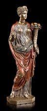 Livia Drusilla Figur - Iulia Augusta - Statue Veronese bronziert