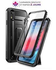 Coque, Etui, Housse pour iPhone XR Anti-Choc avec Protecteur d'écran Intégré