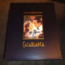 CASABLANCA-Special Collector Set w/LOBBY CARDS, SENITYPE, B&W Lim Edition Photos