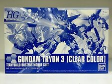 Bandai Gunpla Expo HGBF 1/144 Gundam Tryon 3 Clear Color Version Team Busters MS