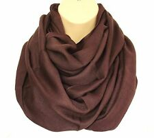 Super cercle boucle foulard snood chocolat coule-grande qualité-lotsother couleu...
