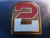 2ND/ SECOND U.S. ARMY,  QUALITY ENAMEL  METAL PIN BADGE1.00 inches long (25mm)