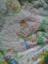 Vintage Sesame Street Twin Fitted Sheet & Pillowcase