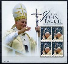 Briefmarken St Vincent Bequia 2007 Papst Benedikt Pope Benedict Religion 575 Kleinbogen Mnh