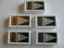 50 FEATHER Double Edge Razor Blades Hi-Stainless 5 Per pack