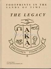 "Alpha Kappa Alpha ""The Legacy"" History Book 1998 RARE"
