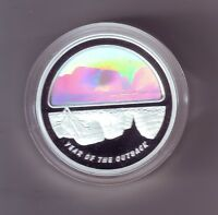 2002 Year of the Outback $5 Coin Silver Proof Finale Hologram the Olgas