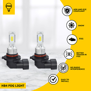AGS HB4 Fog Light Halogen For BMW 320Ci Convertable 2002 2003 2004 2005 2006