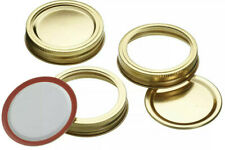 Kitchen Craft 12x Spare New Screw Bands and Seal Lids For Kilner & Preserve Jars