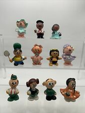 Tiny Marble People Handmade Miniatures Girls Boys Baby More Lot Of 11