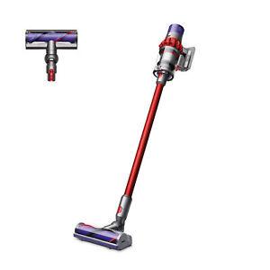 Dyson V10 Motorhead Cordless Vacuum Cleaner   Red   Refurbished