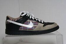 Nike Dunk Low CL Plaid '06 Sneaker Athletic Multi Hip Tan Black Men 9.5 Retro