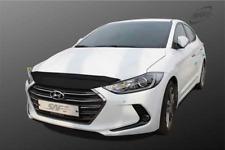 Smoke Bug Shield Bonnet Hood Guard Garnish For Hyundai Elantra 2015 ~ 2018