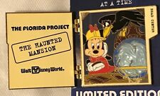 Disney Florida Project Building One Story at a Time Haunted Mansion LE 750 Pin