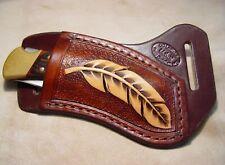 Custom RH Leather Knife Sheath that fits a Buck 110 /112 Knife. Sheath ONLY