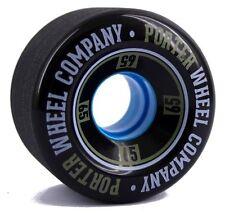 PORTER Mini Monkey Wheel 65mm 80a Black Longboard Minicruiser Skateboard