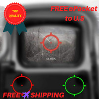 551 552 553 Holographic Sight Scope Hunting Colored Red Dot Sight Riflescope