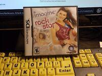 Imagine: Rock Star (Nintendo DS, 2008) MINT CONDITION