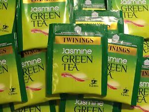Twinings Jasmine Green Tea - individually enveloped tea bags - FREE P&P