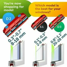 Magnetic Window Glass Cleaner Single Double Side Glazing Cleaning Tool Car Glass