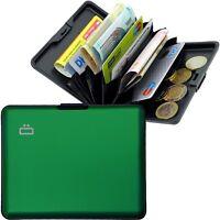 ÖGON Aluminium Börse Brieftasche Wallet RFID NFC Geldbörse ALU Etui Card Case
