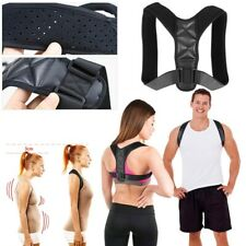 Adjustable Back Shoulder Lumbar Support Posture Corrector Brace Belt 9Gu.