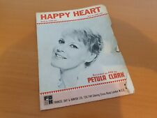 Happy Heart - Petula Clark - Sheet Music