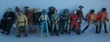 STAR WARS action figure cantina scene characters diorama Loose Lot of 14 figures