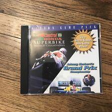 Johnny Herbert's Grand Prix Championship NASCAR Vintage PC CD-ROM Racing Game