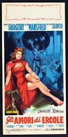 Plakat Gli Liebes-Herz Von Herkules Jayne Mansfield Mickey Hargitay Serato L35