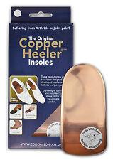 The Original Copper Heeler Insoles Size 5-7 Arthritis Relief Insoles