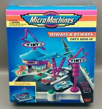 1994 GALOOB MICRO MACHINES HIWAYS & BYWAYS TINY'S DRIVE-IN • NEW IN SEALED BOX!