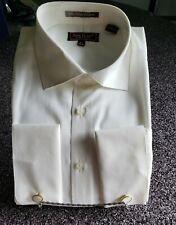 Henri Picard Ivory French Cuff Shirt NWT  $24.99 DJ11