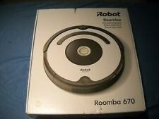 NEW IROBOT ROOMBA 670 VACUUM CLEANER ROBOT CORDLESS WIFI SELF-CHARGING 90 MINUTE