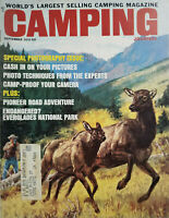 Camping Journal Sept 1970 Vtg Magazine - Everglades National Park Endangered