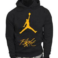 Chicago Bulls 23 Michael Jordan NBA Flight Air Jersey Hoodie New Free Shipping