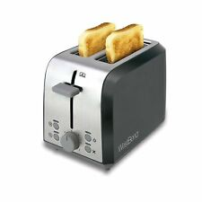 West Bend 78823 Extra Wide Slot Toaster with Bagel Settings Ultimate Toast Li...
