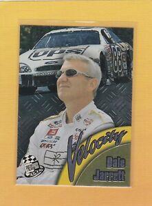 2002 PRESS PASS NASCAR VELOCITY DALE JARRETT #VL5 NMMT/MINT *64630