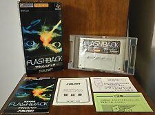 FLASHBACK Nintendo SUPER FAMICOM SFC JAPANESE JAPAN NTSC-J