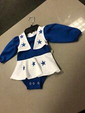 Dallas Cowboys Cheerleaders Dress Uniform White Royal Blue  TODDLER GIRLS