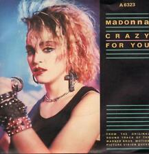 """Madonna(7"""" Vinyl P/S)Crazy For You-A 6323-65-Ex/Ex"""