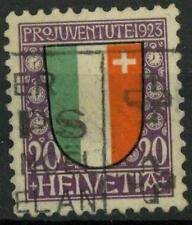 """SWITZERLAND - SVIZZERA - 1923 - """"Pro Juventute"""" - Stemmi cantonali e nazionale"""